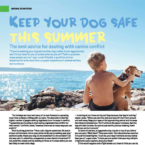 201812 MARKtoe article: Keep your dog safe this summer by Anna Mouton.