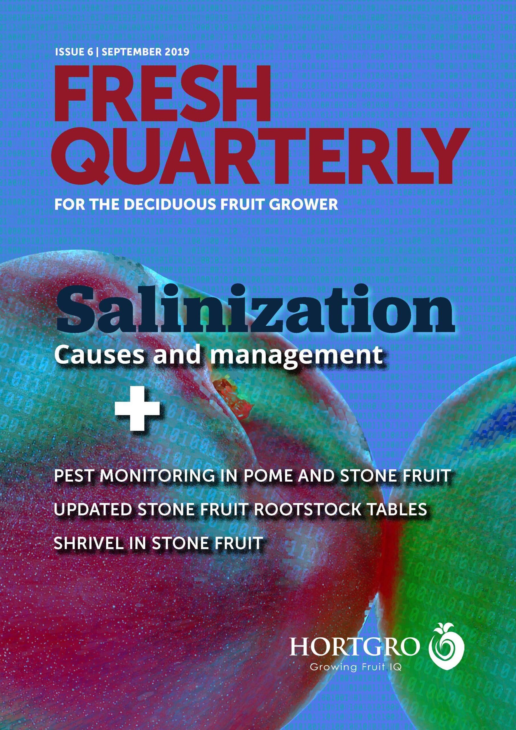 Cover for Fresh Quarterly September 2019 designed by Anna Mouton.
