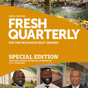 Cover for Fresh Quarterly July 2019 designed by Anna Mouton.